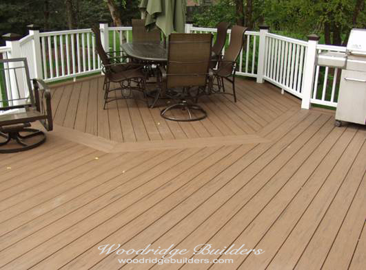 Mixing brands for outstanding results Terrain decking