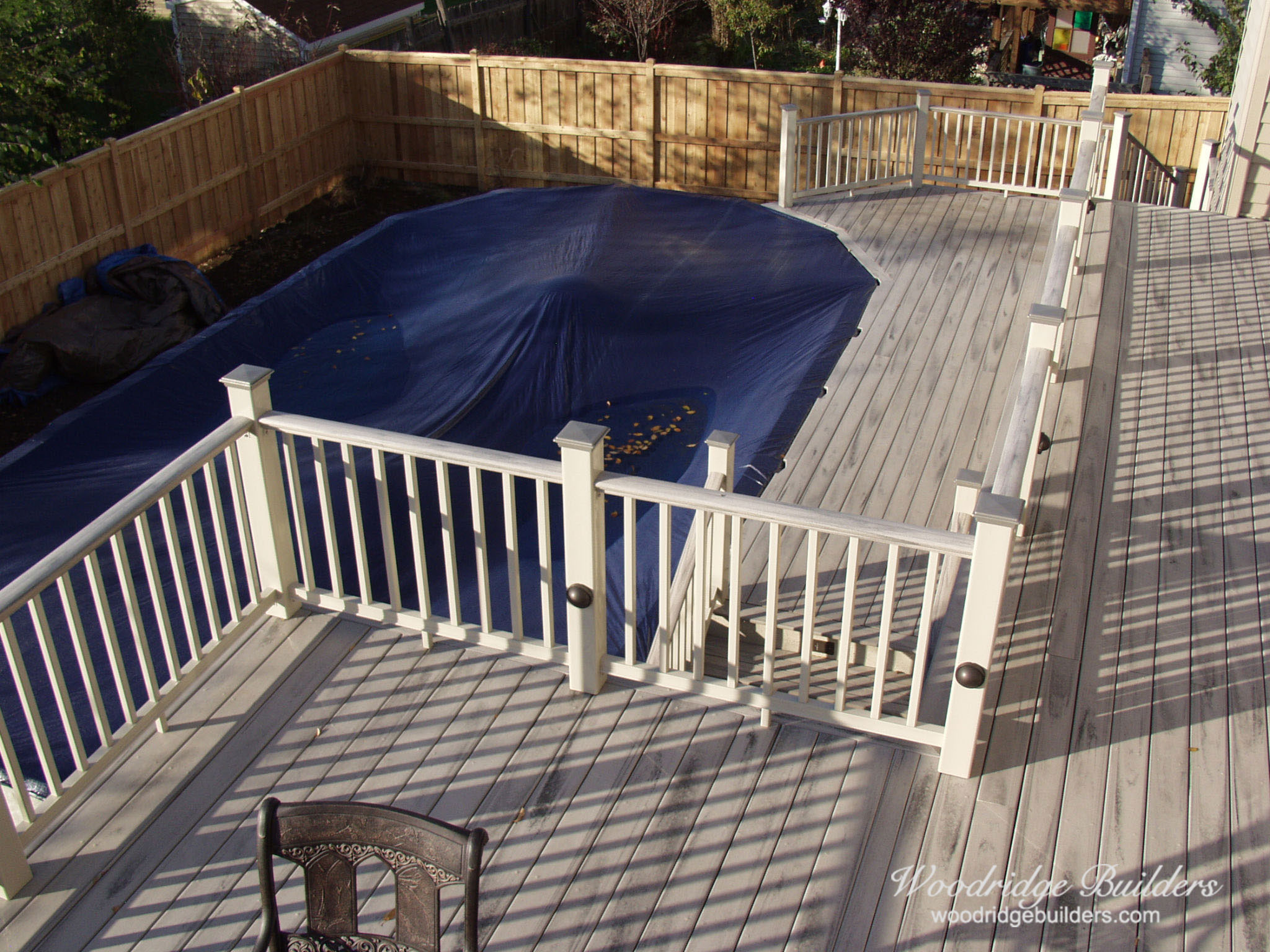 X-02 Composite Deck Woodridge Deck & Gazebo Co.