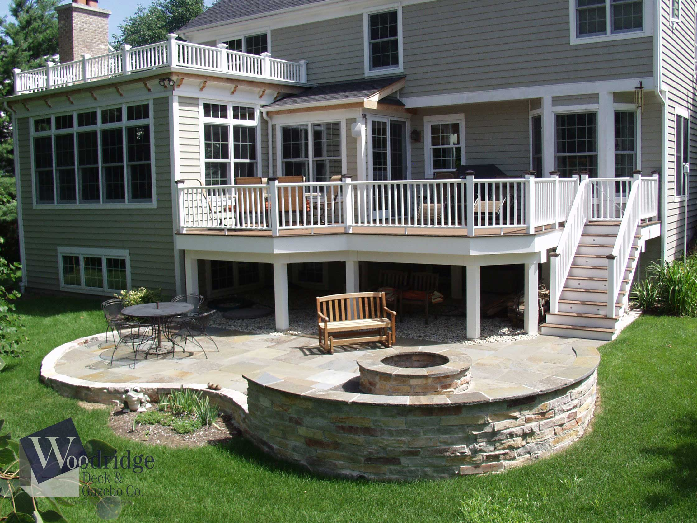 AA-01 PVC Deck Woodridge Deck & Gazebo Co.
