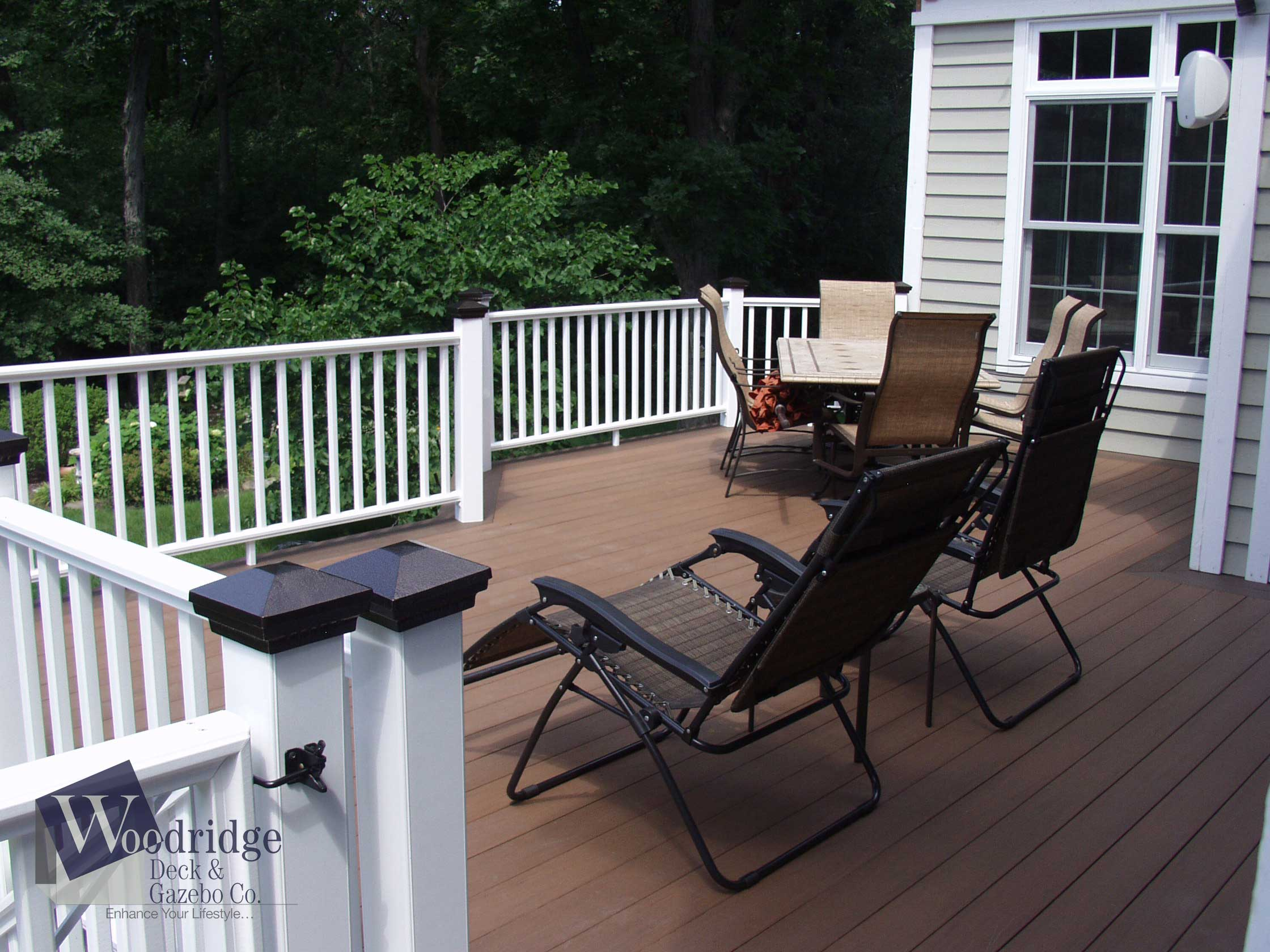 AA-02 PVC Deck Woodridge Deck & Gazebo Co.
