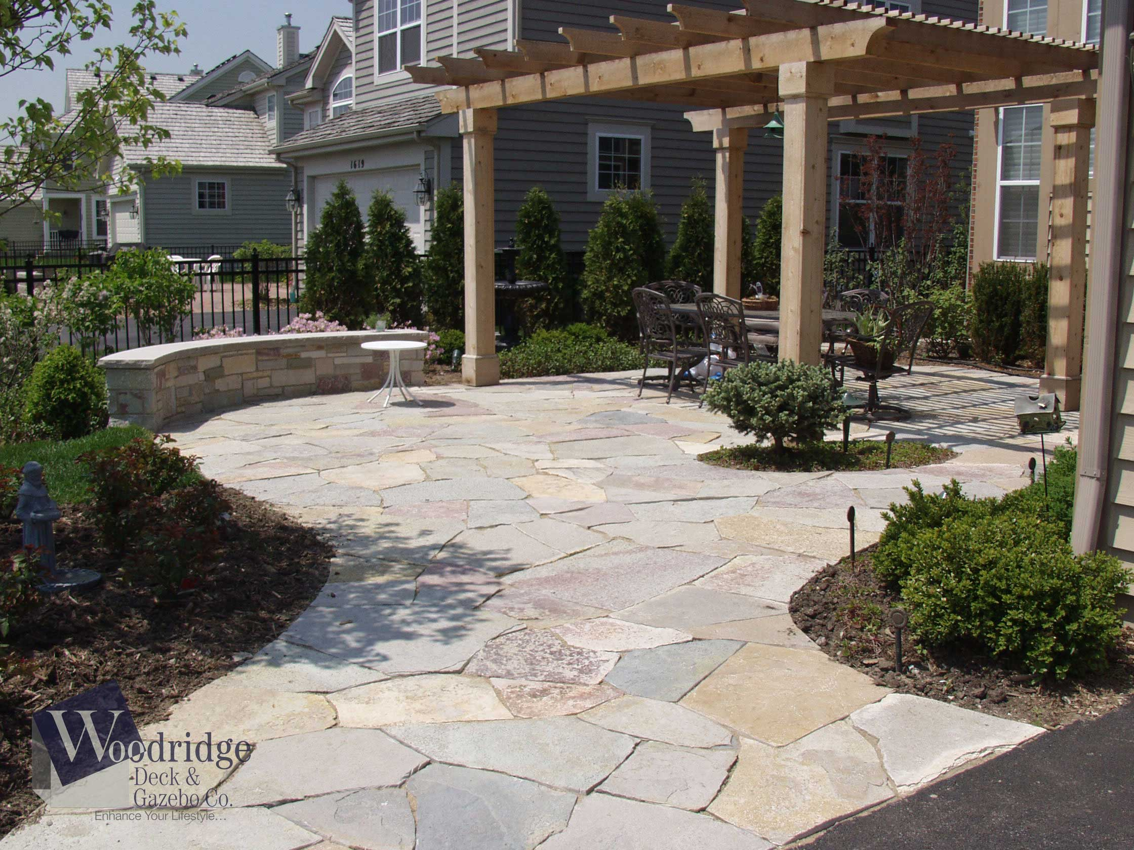 ZZ-11 Flagstone Patio