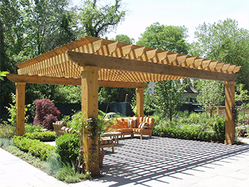Pergolas by Woodridge