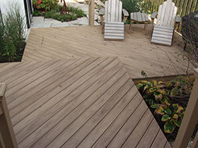 Composites Decking Material