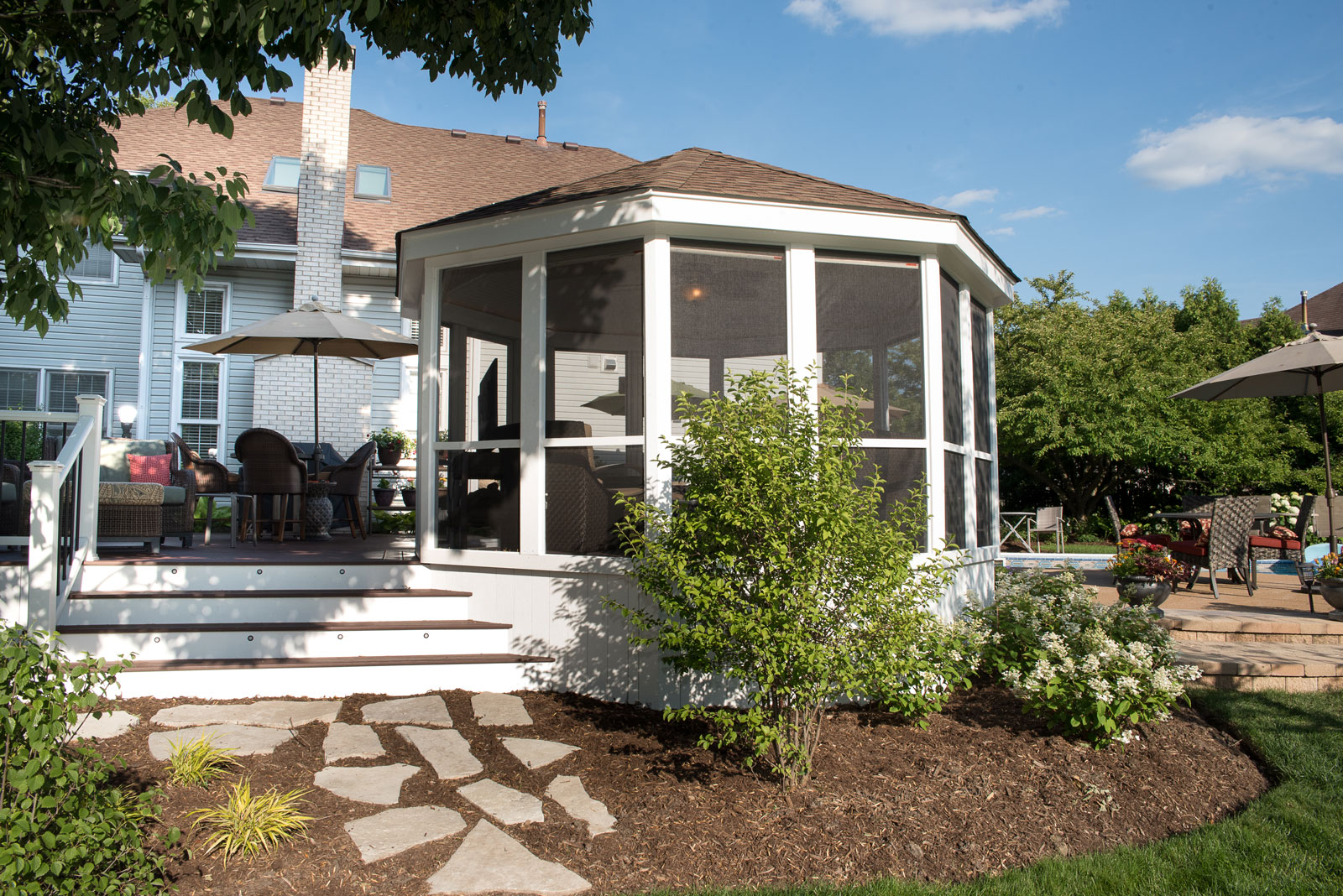 Project Highlight Gazebo and Timbertech Deck